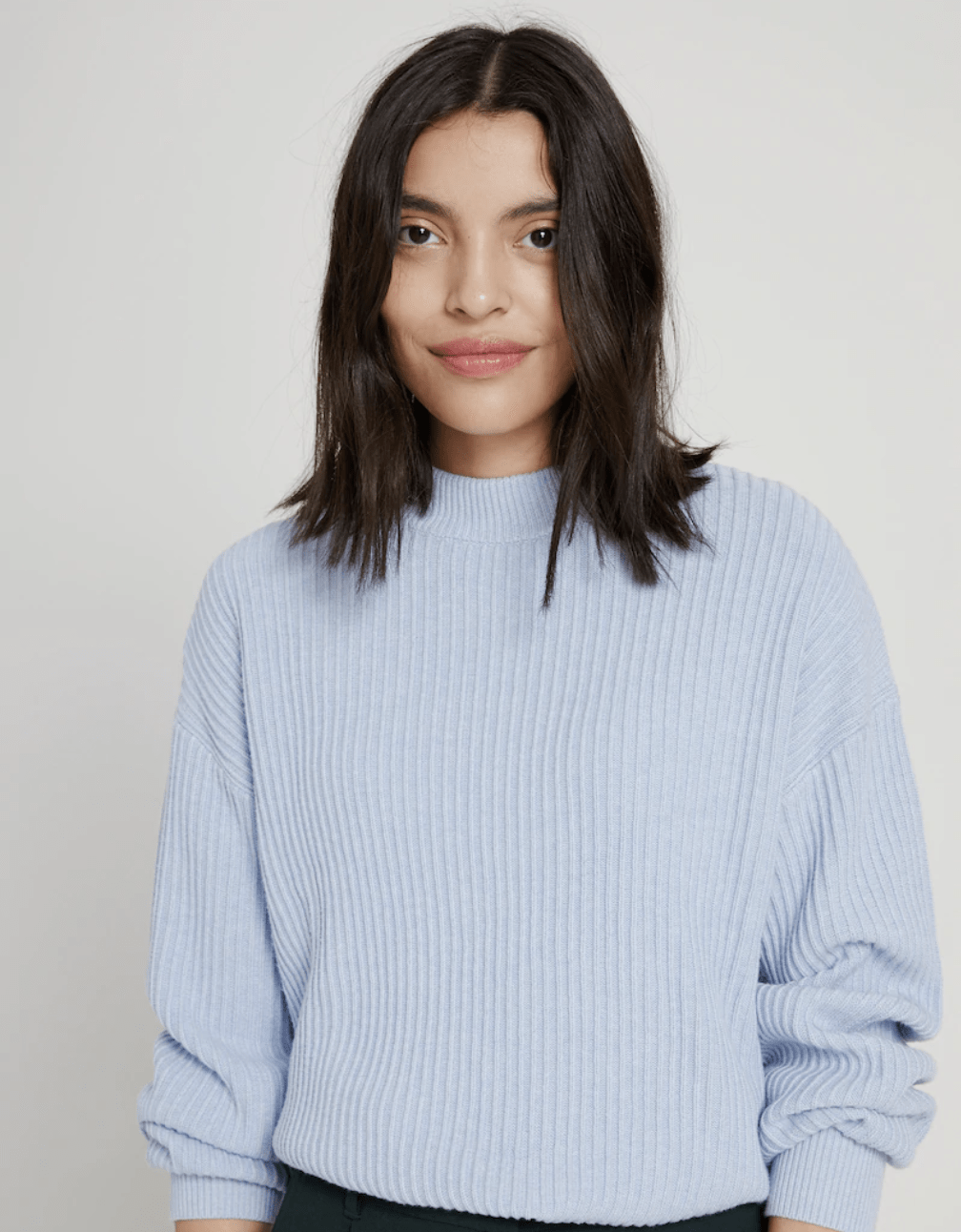 Oak and Fort - Seacell Fabric Crewneck Sweater