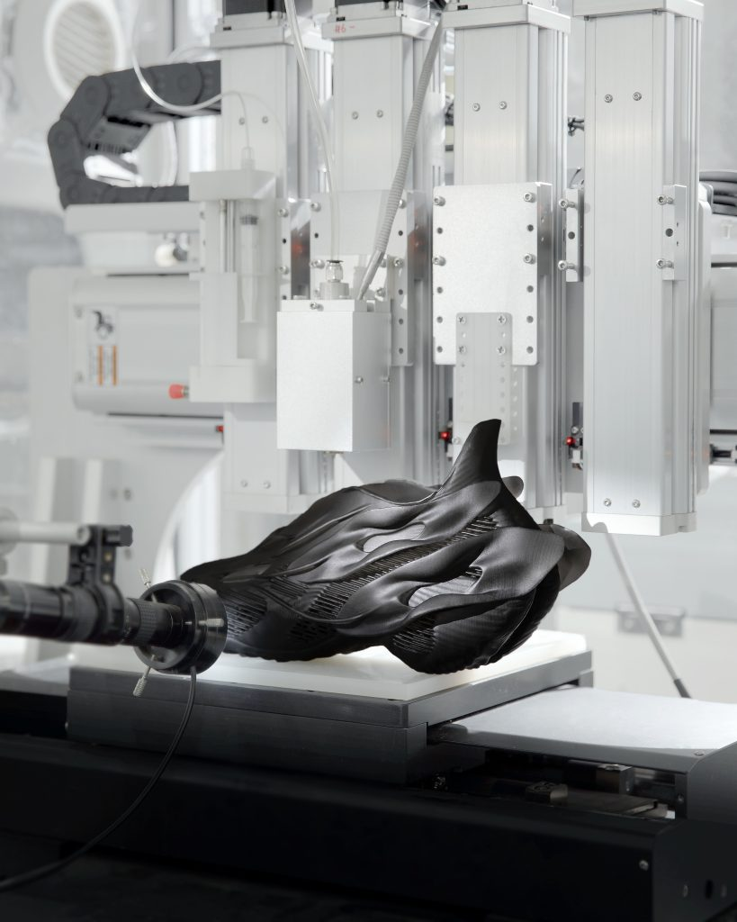SCRY 3d printing shoes