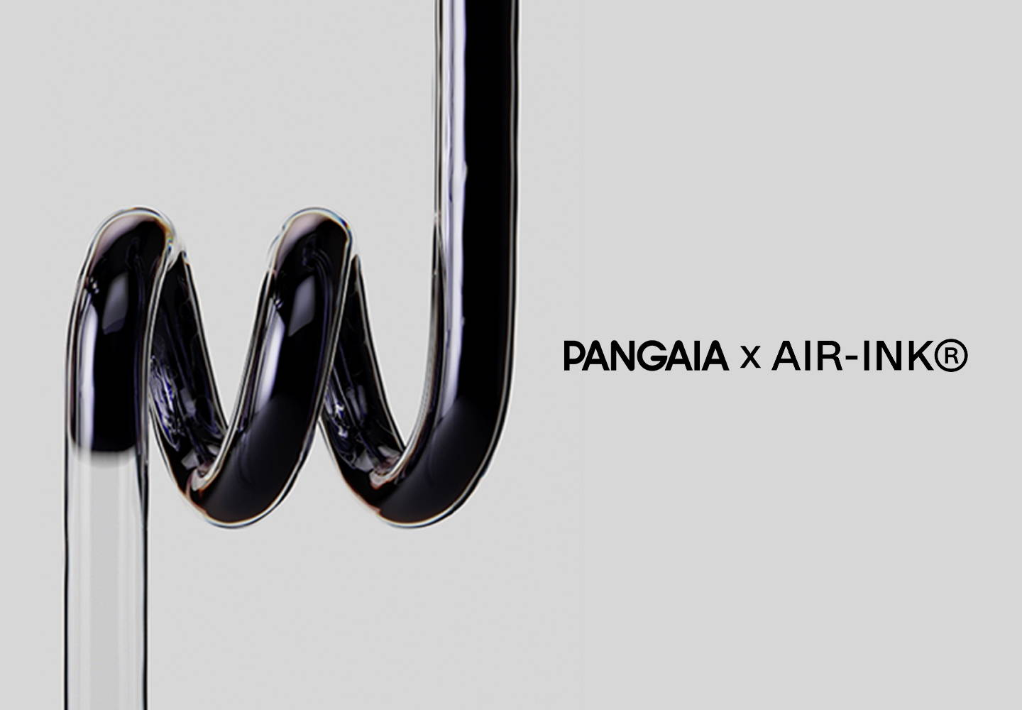 Pangaia's Air Ink aims to reduce pollution.