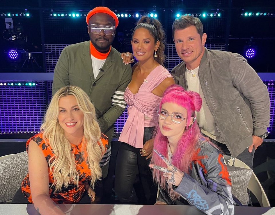 will.i.am, Grimes, Alanis Morissette, and Nick Lachey join the judging panel of Fox's Alter Ego