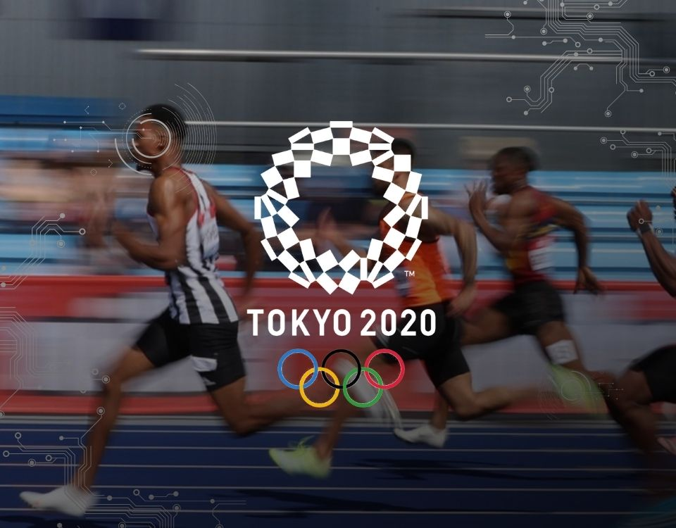 Olympics athletes use wearable tech to up their game this year.